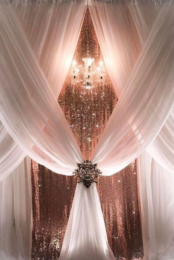 Tipos de telas que puedes usar en la decoración de fiestas y todo tipo de eventos