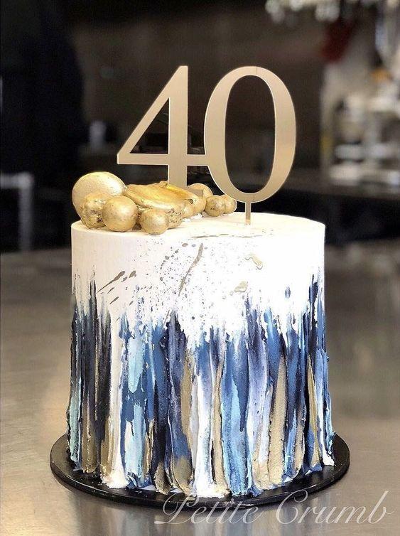 Decoracion de cumpleaños 40 para hombre