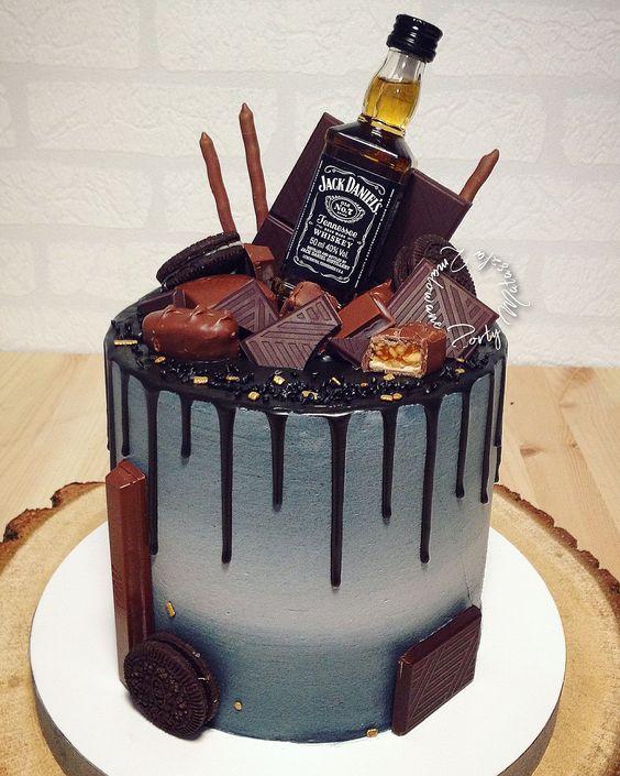 Pasteles de cumpleaños para hombre