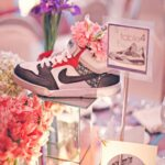 Centros de mesa para fiesta temática de Nike