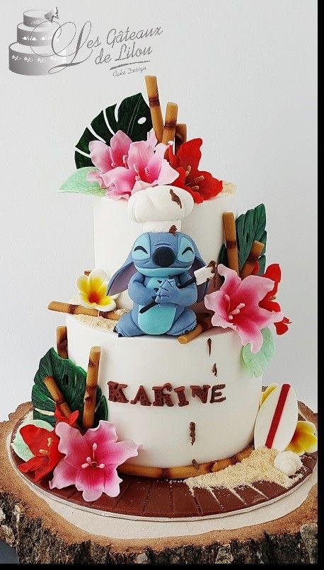 Diseños de pasteles de lilo y stitch