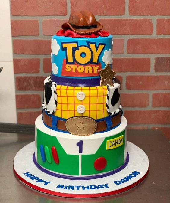 Diseños de pasteles para fiesta de toy story
