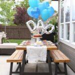 Fiesta sorpresa en casa para el día del padre