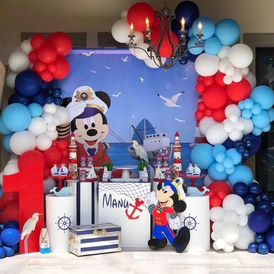 Fiesta temática de marinero
