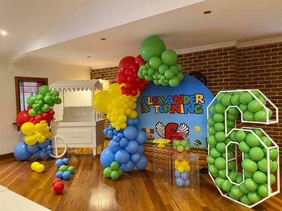 Ideas para una fiesta de Mario Bros