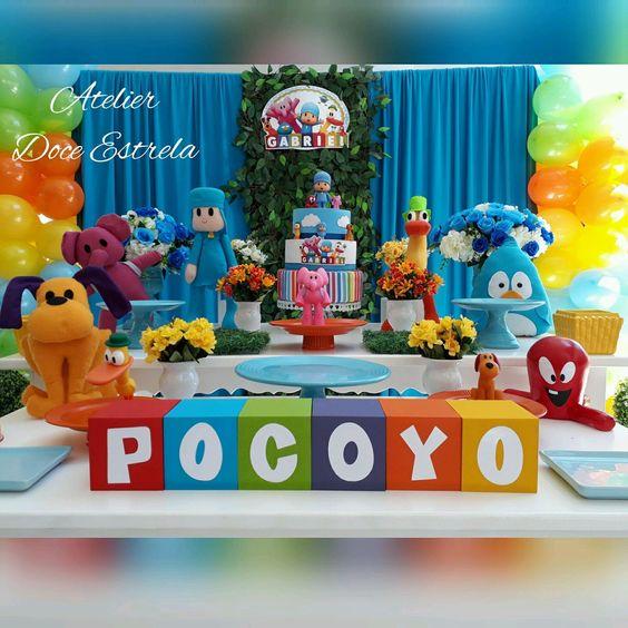 Ideas para una fiesta de Pocoyo