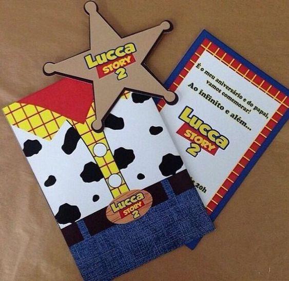 Invitaciones para fiesta de Toy Story
