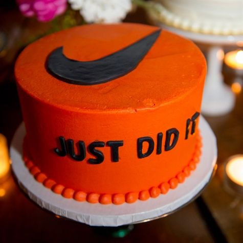 Pasteles inspirados en Nike