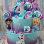Pasteles para fiesta de frozen