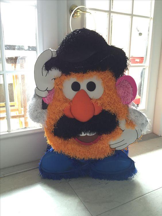 Piñatas para fiesta de toy story