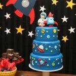 Diseños de pasteles para fiesta de astronautas