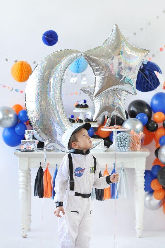 Fiesta de astronautas para niños