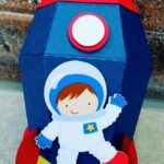Piñatas de astronautas