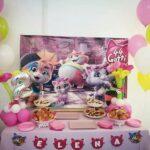Decoración para fiesta de 44 gatos