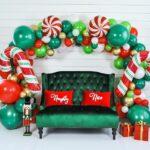 Fondos para fotos en una posada navideña