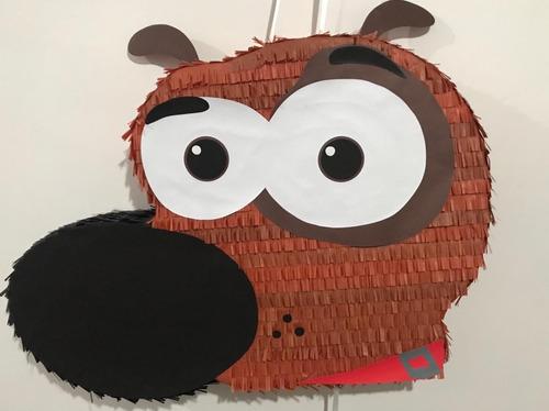 Piñatas para una fiesta temática de mi perro pat
