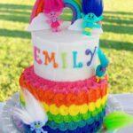 Diseños de pasteles de trolls