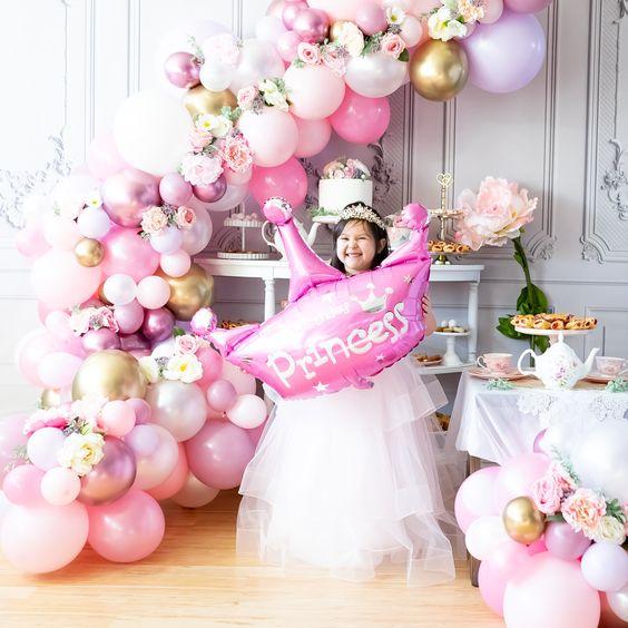 Fiesta temática de princesa