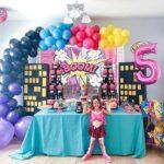 Temas modernos para fiesta temática de niña