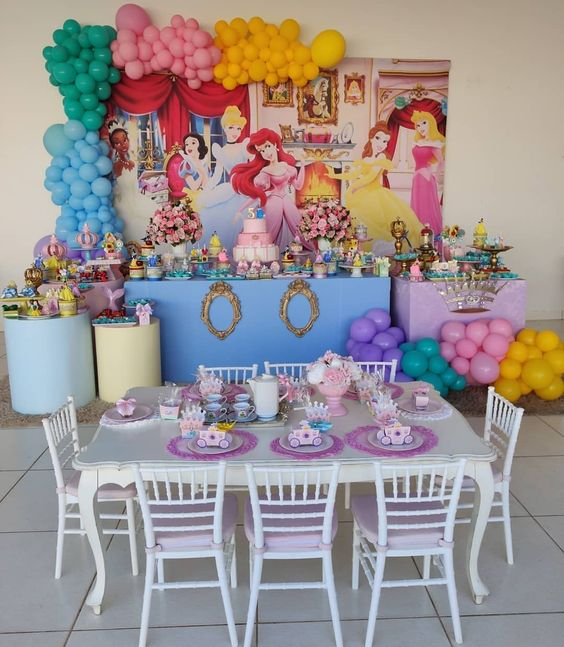 Ideas para fiestas infantiles de princesas