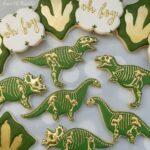 Postres para fiesta de dinosaurios
