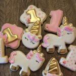 Diseños de postres para fiesta de Unicornios